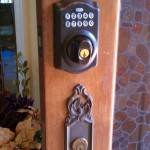 Schlage_combination_Keypad_Installed_1/2012